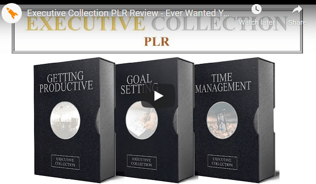[GET] 2020 Executive Collection PLR – 3 Executive Collection PLR Pack Free Download