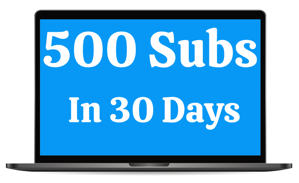 [GET] 500 Subscribers In 30 Days Free Download
