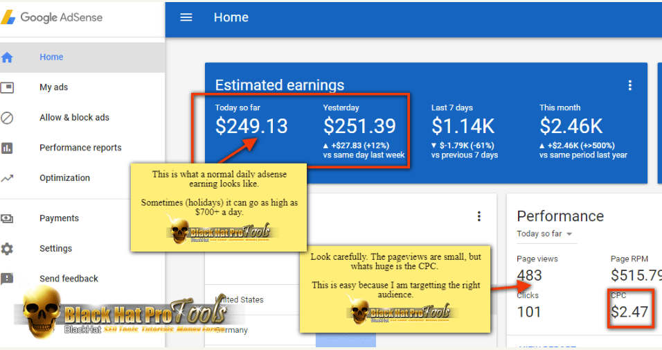 [SUPER HOT SHARE] [ADSENSE TRICK] $200 Per Day With My Simple Google AdSense Method – No Website Needed Download