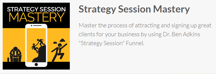 [SUPER HOT SHARE] Ben Adkins – Strategy Session Mastery Download