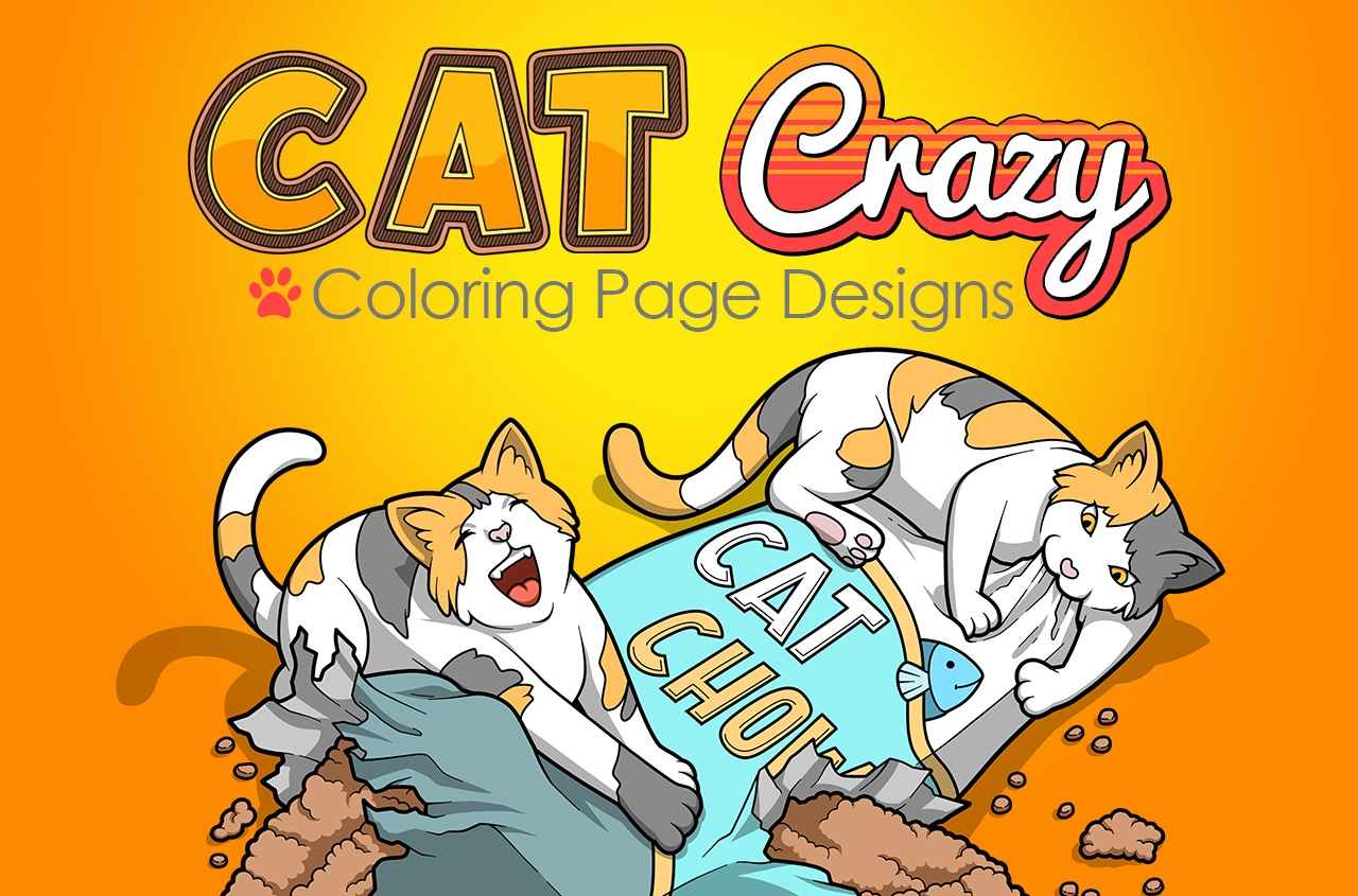 [GET] Cat Crazy Coloring Pages (FE Only) Free Download