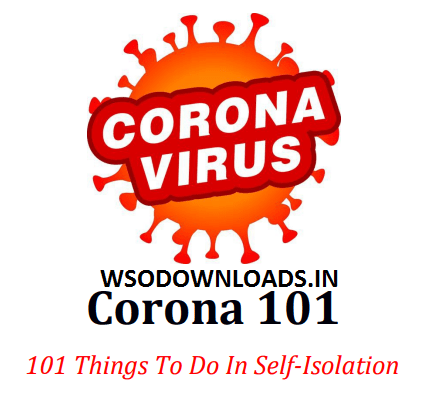 [GET] Corona 101 Things To Do In Self Isolation Download