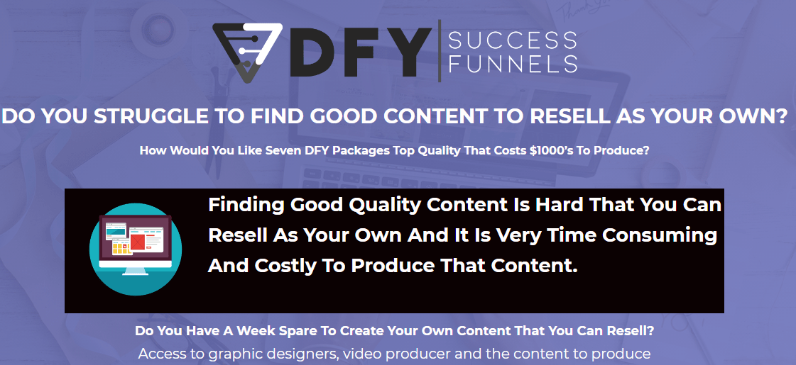 [GET] DFY Success Funnels (Releasing 25th November) Update Free Download