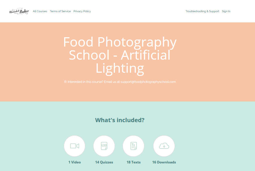 [SUPER HOT SHARE] Food Photography School – Artificial Lighting Course Download