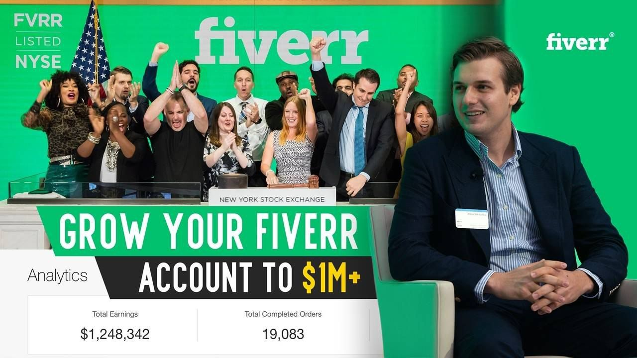 [SPECIAL OFFER] Freelance Hustle – Hustle With Fiverr – Grow Your Fiverr Account To $1M+