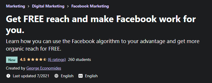 [GET] Get FREE Reach And Make Facebook Work For You Free Download