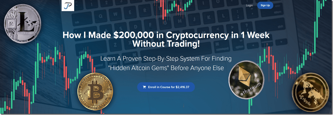 [SUPER HOT SHARE] How I Made $200,000 in Cryptocurrency in 1 Week Without Trading Download
