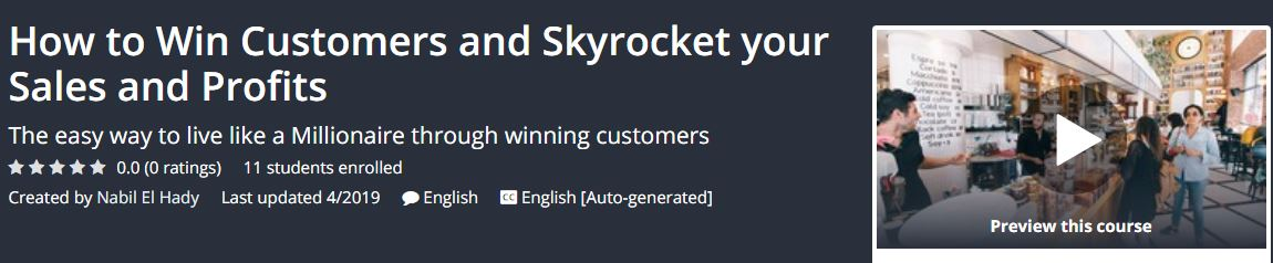 [GET] How to Win Customers and Skyrocket your Sales and Profits Download