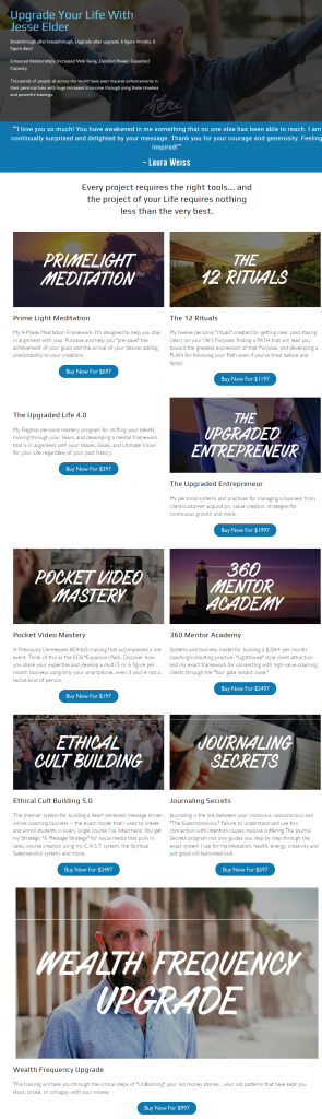 [SUPER HOT SHARE] Jesse Elder – Entire Library Of Courses Download