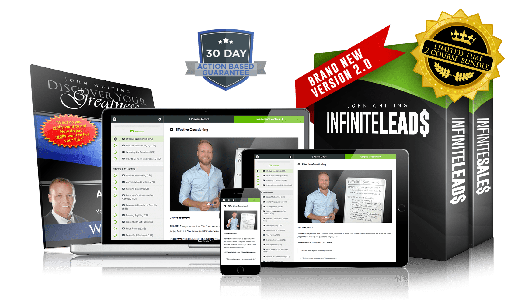[SUPER HOT SHARE] John Whiting – Infinite Leads 2.0 Download