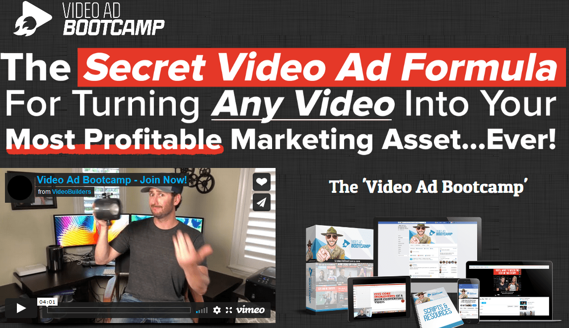 [SUPER HOT SHARE] Kevin Anson – Video Ad Bootcamp Download