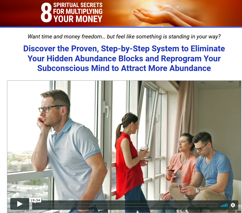 [SUPER HOT SHARE] Mary Morrisey – 8 Spiritual Secrets for Multiplying Your Money Download