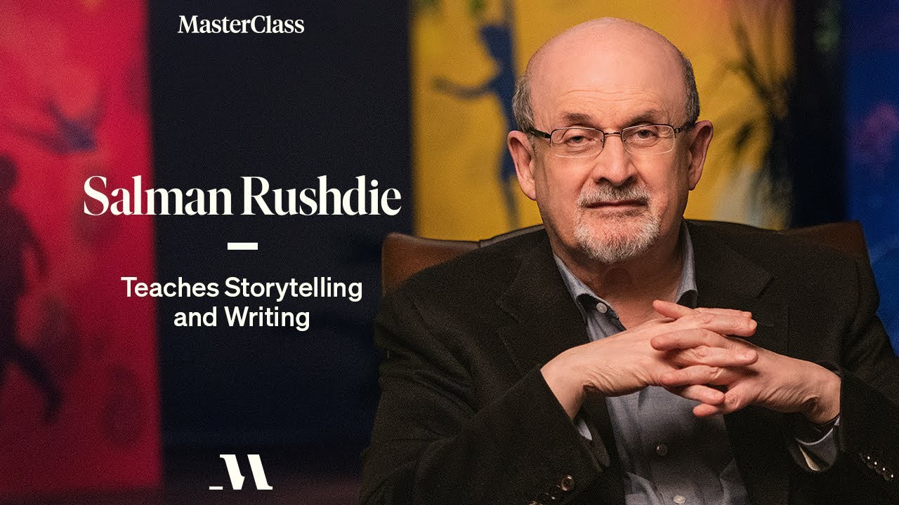 [GET] MasterClass – Salman Rushdie Teaches Storytelling and Writing Free Download