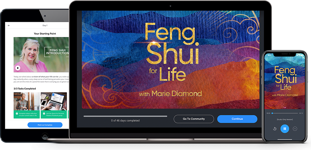 [SUPER HOT SHARE] MindValley – Marie Diamond – Feng Shui For Life Download