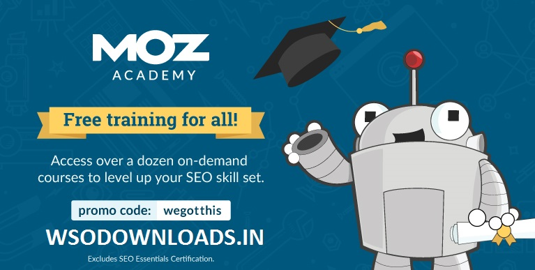 [GET] Moz Academy – Free Training for all Download