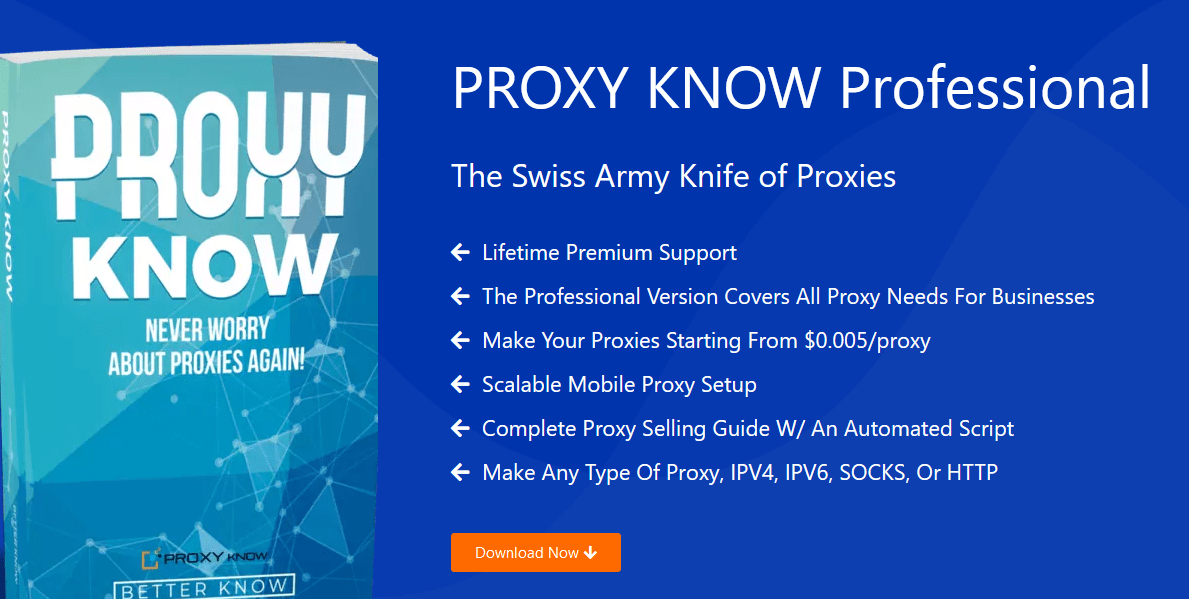[SUPER HOT SHARE] PROXY KNOW 4.0 Professional Download