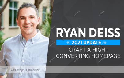 [SUPER HOT SHARE] Ryan Deiss – Craft A High-Converting Homepage v2 Download
