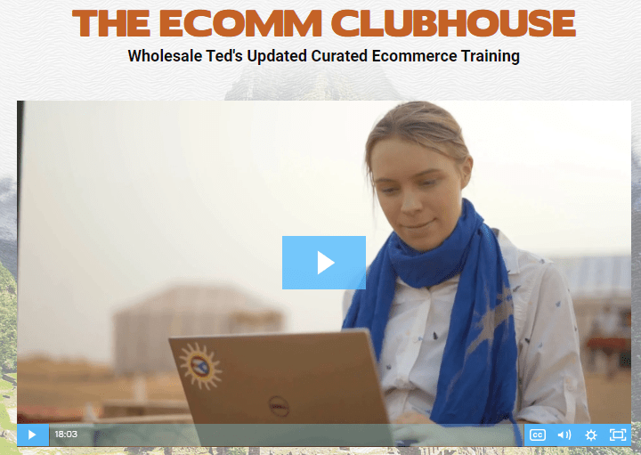 [SUPER HOT SHARE] Sarah Chrisp – Ecomm Clubhouse Download