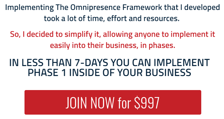 [SUPER HOT SHARE] Scott Oldford – Omnipresence In 7 Days Masterclass Download