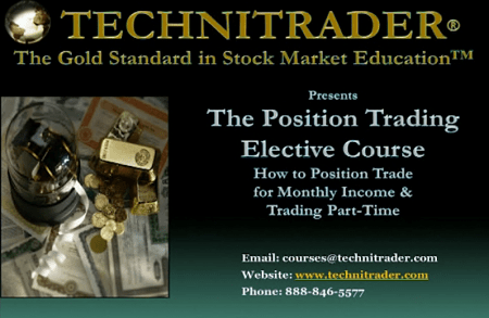 [SUPER HOT SHARE] Techni Trader – Position Trading Course Download
