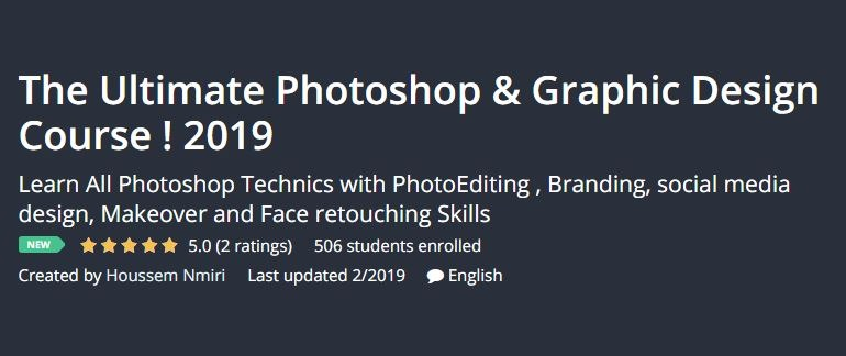 [GET] Udemy – The Ultimate Photoshop and Graphic Design Course ! 2019