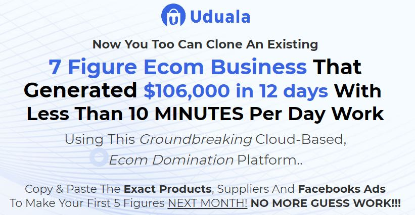 [GET] Uduala ECom Domination – Create Your Own Account Download