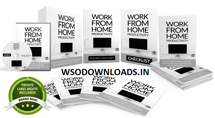 [GET] Work From Home Productivity – UnstoppablePLR.com Download