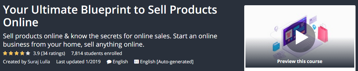 [GET] Your Ultimate Blueprint to Sell Products Online Download