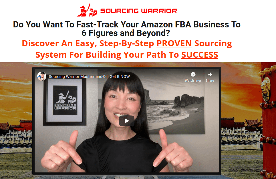 [SUPER HOT SHARE] Yuping Want – Sourcing Warrior Mastermind Download