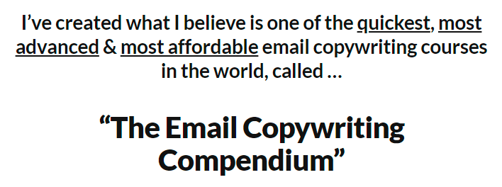 [GET] Daniel Throssell – Email Copywriting Compendium Free Download